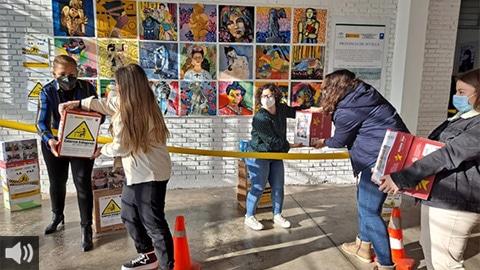 El nuevo espacio 'Voces por la COOPERACIÓN y la SOLIDARIDAD' abre la puerta a Movimiento por la Paz en Sevilla y a su programa de acogida humanitaria