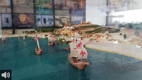 'Cristóbal Colón partió de un puerto pujante ya que hemos encontrado diez hornos industriales dedicados a la cerámica de mesa o a la elaboración de ladrillos', Francisco Ruiz, Universidad de Huelva