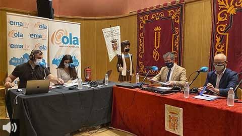 El alcalde de Santa Fe y el delegado de turismo provincial de Granada destaca la belleza y las bondades de este municipio granadino en la caravana radiofónica de 'Andalucía, De Este a Oeste'