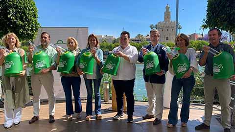 Ecovidrio lanza 'Yo Soy Reverde' que contempla la colaboración con el sector de la hostelería y restauración, la sensibilización ciudadana o la mejora de las infraestructuras