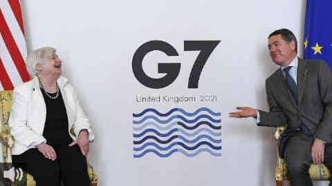 Los Ministros de Finanzas del G7 acuerdan una reforma coordinada de la fiscalidad a nivel global para fortalecer a las economías tras la crisis sanitaria provocada por la COVID-19
