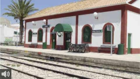 La variante ferroviaria de Aguadulce vuelve a entrar en servicio dos años después de la finalización de las obras