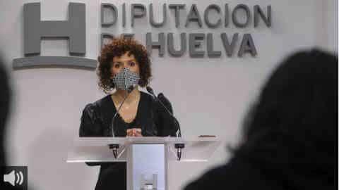 'Lo que buscamos es tener una provincia accesible y que esté conectada digitalmente para que se den igualdad de oportunidades' María Eugenia Limón, presidenta de la Diputación de Huelva