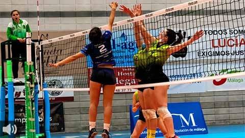 El voleibol femenino de Pizarra hace historia en su ascenso a la Primera División Femenina Nacional