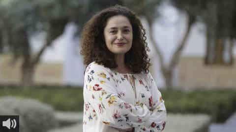 'Además de darle las gracias al personal sanitario, la Junta tiene que pagar el resto del complemento que le adeuda desde 2019', Inmaculada Nieto, portavoz de Unidas Podemos por Andalucía