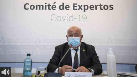 La Junta de Andalucía propone la vuelta al toque de queda en los municipios de más de 5.000 habitantes con tasa superior a los 1.000 casos, tras su reunión con el Comité de Expertos