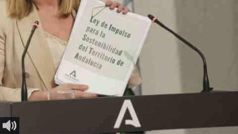 El Parlamento andaluz aprueba continuar con la tramitación de la Ley de Impulso para la Sostenibilidad del Territorio de Andalucíaen el último pleno del curso político