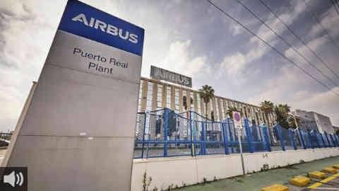 El comité de Airbus en Puerto Real aprueba un calendario de protestas para todo el mes de julio