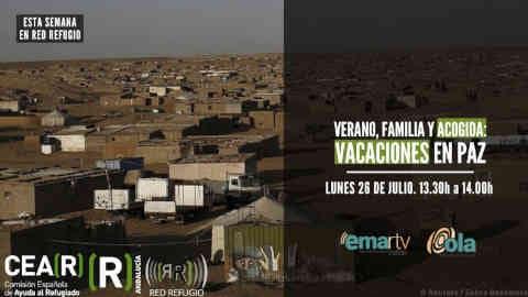 Hoy 'Red Refugio' pone en valor los más de 40 años del proyecto Vacaciones en Paz con el que miles de niños y niñas saharauis que pasan el verano con una familia de acogida