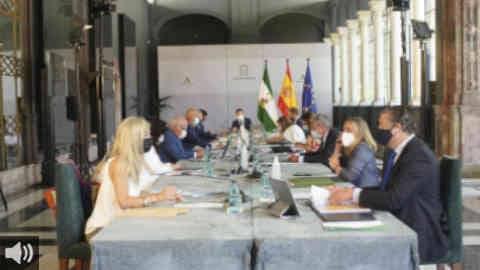 CERMI Andalucía acuerda con el presidente de la Junta abrir una negociación para garantizar la sostenibilidad de los centros de personas con discapacidad