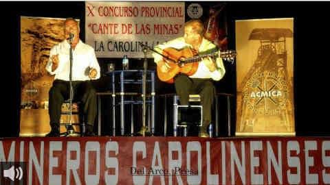 La localidad de La Carolina, en Jaén, celebra su concurso del Cante de las Minas aunando poesía, música y tradición