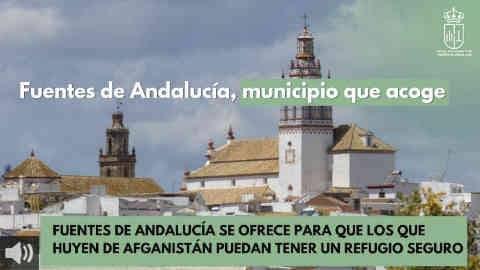 El Ayuntamiento de Fuentes de Andalucía se ofrece como un refugio seguro para las personas que huyen de Afganistán