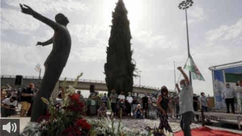 """""""Blas Infante sigue enterrado en una fosa común 85 años después de su asesinato, al igual que miles de víctimas del golpe militar"""", Cecilio Gordillo, coordinador Grupo de Trabajo Recuperando la Memoria de la Historia Social de CGT"""
