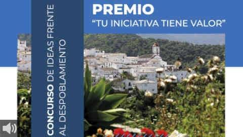 El concurso 'Tu iniciativa tiene valor', de la Diputación de Málaga, premia ideas innovadoras que luchen contra el despoblamiento de los pueblos