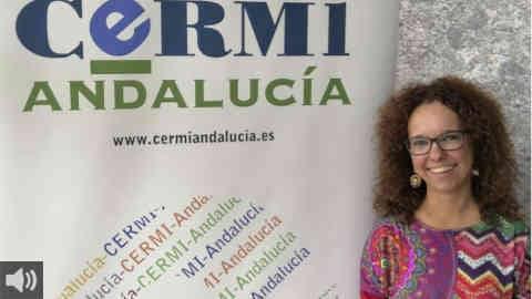 'La consecuencia de este tipo de espectáculos es que todas las personas de talla baja sufrimos esas burlas', Marta Castillo, CERMI Andalucía