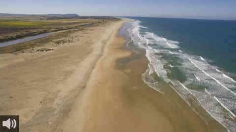 Los vecinos y vecinas de Conil de la Frontera, en Cádiz, piden preservar la identidad y la riqueza histórica y natural del prado y la playa de Castilnovo