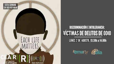 Esta semana en 'Red Refugio' hablamos sobre discriminación e intolerancia con víctimas de delitos de odio