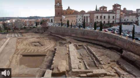 El Teatro Romano de Guadix, en Granada, una joya arquitectónica del siglo I d.C. que se encuentra 'Abierto por Obras'