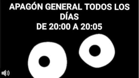 ¡Apagón España!, una iniciativa ciudadana que promueve apagones de cinco minutos diarios en señal de protesta a las constantes subidas del precio de la electricidad