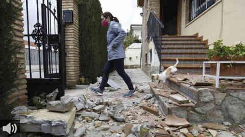 Alcaldes del área metropolitana de Granada afectados por los terremotos denuncian que no han llegado ayudas extraordinarios por parte de la Junta de Andalucía para hacer frente a los daños