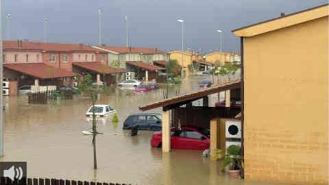 El Ilustre Colegio Oficial de Geólogos recuerda la importancia de la prevención para evitar daños por inundaciones y la necesidad de invertir en medidas que palíen los destrozos