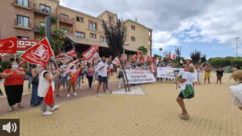 UGT y CCOO continúan con el calendario de movilizaciones para reclamar la subida salarial pactada y denunciar la eliminación del complemento por incapacidad temporal