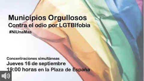 'Es fundamental luchar contra los delitos de odio desde el municipalismo', Manolo Rosado, Red de Municipios Orgullosos