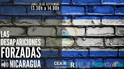 Hoy en Red Refugio hablamos de las desapariciones forzadas que se registran en Nicaragua