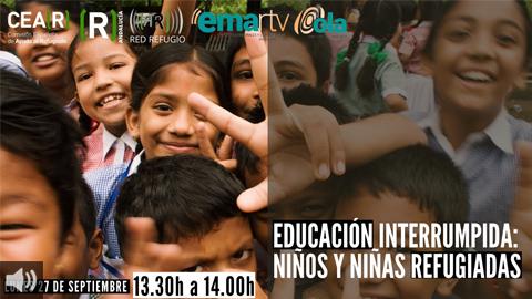 Hoy, en Red Refugio hablamos sobre la educación interrumpida de los niños y niñas refugiados