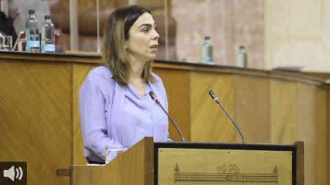 'El papel de Ciudadanos en este nuevo curso político va a ser la continuidad de lo que venimos aplicando', Teresa Pardo, portavoz  de Ciudadanos en la Cámara autonómica