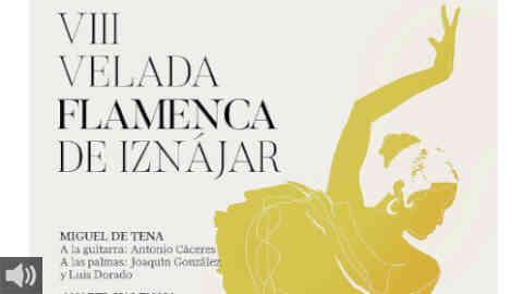 El Ayuntamiento de Iznájar celebra la octava edición de de su Velada Flamenca tras el obligado parón por la crisis sanitaria
