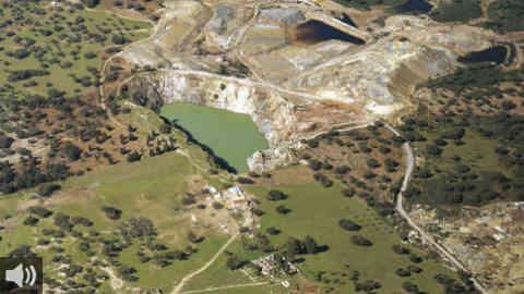 Las Herrerías, una muestra del patrimonio industrial que constituye la huella del pasado minero de la provincia de Huelva