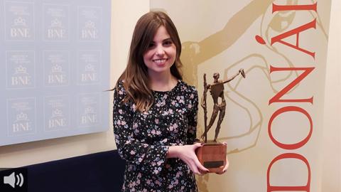La poeta jiennense, María Elena Higueruelo, Premio Nacional de Poesía Joven por 'Los días eternos'