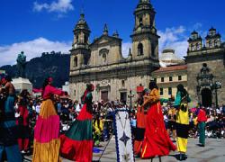 La ciudad colombiana de Bogotá acoge esta semana un encuentro internacional por la paz con justicia social
