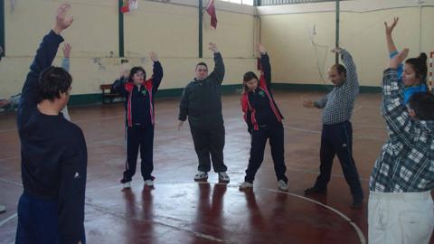 Promover la actividad física entre el colectivo de personas con discapacidad mental