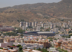 Organizaciones sociales de Málaga realizan en el barrio de Palma-Palmilla una muestra para dar a conocer los recursos educativos que existen en la zona