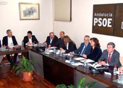 PSOE e IU en Andalucía se comprometen a preservar las políticas sociales