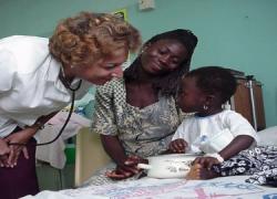 Andalucía colabora con la asistencia sanitaria de países empobrecidos