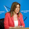 En Andalucía los ajustes no traspasarán las «líneas rojas». Susana Díaz, consejera de Presidencia