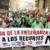 La educación pública vive hoy la primera huelga unitaria de la democracia