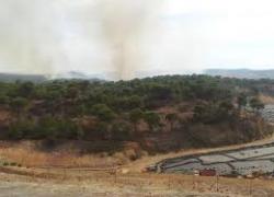 Controlados los dos incendios forestales registrados en las últimas horas en Andalucía