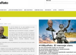 Comienza la campaña '15MpaRato' para sentar en el banquillo al ex responsable de Bankia