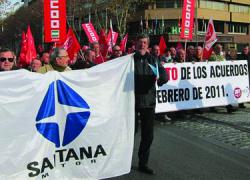 Los ex trabajadores de Santana siguen sus protestas contra el incumplimiento del Plan Linares Futuro