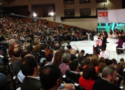 El PSOE-A inicia en Almería su XII Congreso Regional para reelegir a José Antonio Griñán como secretario general