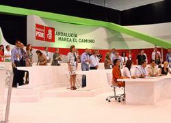 La nueva Ejecutiva del PSOE Andalucía obtiene el respaldo del 65 por ciento