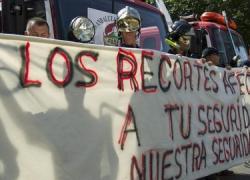 Los cuerpos de seguridad crean una plataforma en Andalucía para defender sus derechos frente a los recortes del Gobierno