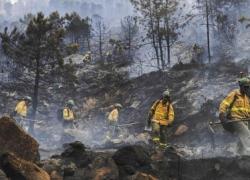 Una quema de rastrojos imprudente podría ser el origen del incendio de la Costa del Sol