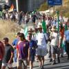 El Sindicato Andaluz de Trabajadores lleva su marcha obrera hasta la provincia de Málaga