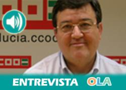 Juan Pérez (CCOO-Andalucía): «Es la huelga con más razones de todas las que hemos convocado estando en democracia»