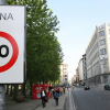 Organizaciones ecologistas inician una campaña para que se reduzca la velocidad máxima a 30 kilómetros por hora en núcleos urbanos de toda la Unión Europea